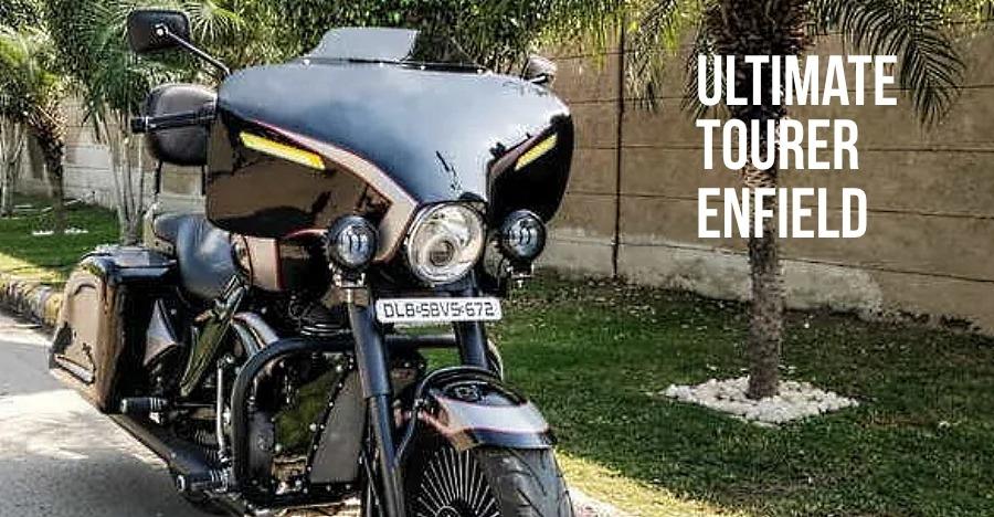 Royal Enfield Thunderbird to BIG daddy Harley cruiser: Ultimate Tourer modification