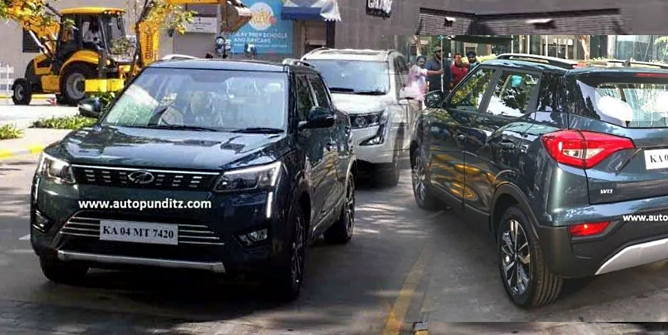 Mahindra XUV300 exterior revealed completely during TVC shoot