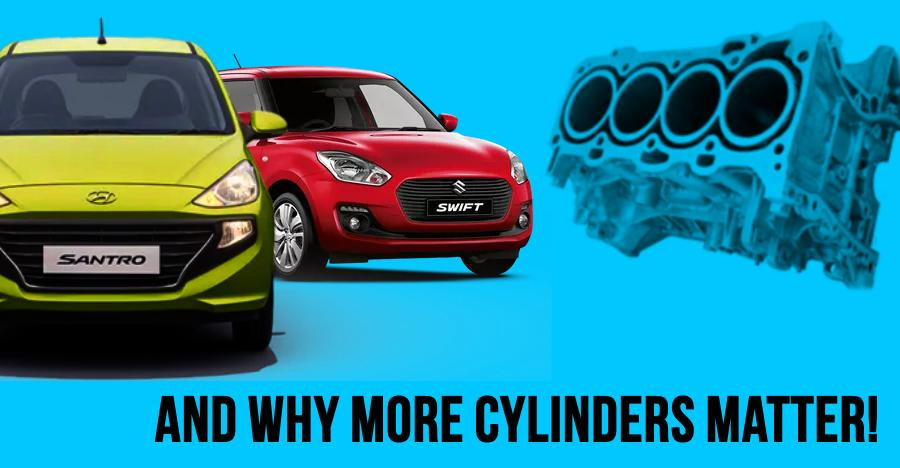Hyundai Santro to Maruti Swift: Most affordable 4-cylinder cars in India