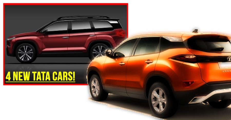4 New Tata Cars Featured