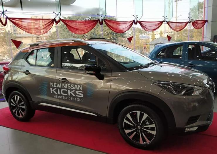 Nissan Kicks Showroom 1