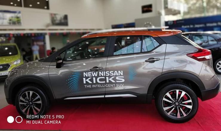 Nissan Kicks Showroom 2