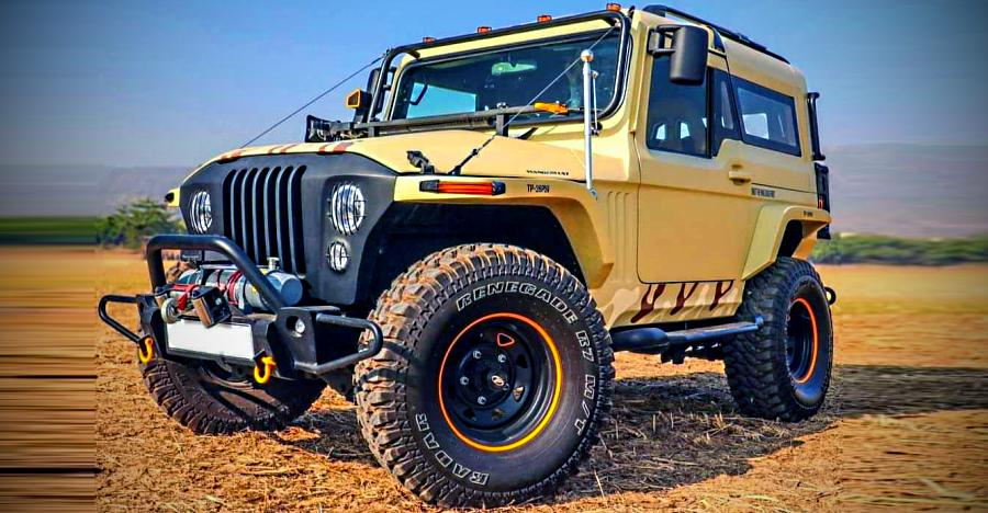 Mahindra Thar Wanderlust Brown Camouflage edition: Watch the