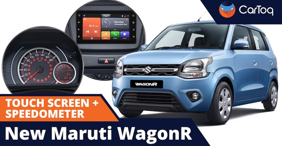 Exclusive! New Maruti WagonR's touch-screen system & speedometer console explained [VIDEO]