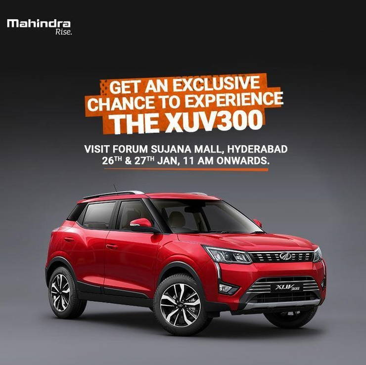 The Mahindra Xuv300 Is Coming To A Mall Near You
