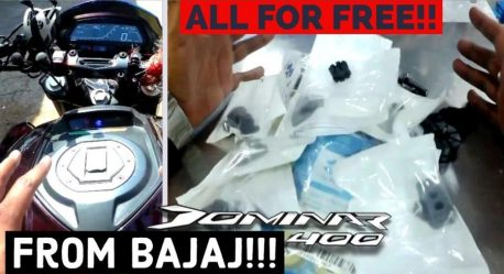 Bajaj Dominar Anti Vibration Kit