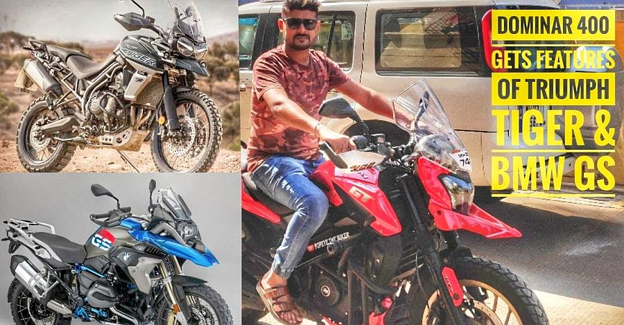 Bajaj Dominar With Heated Grips Featured