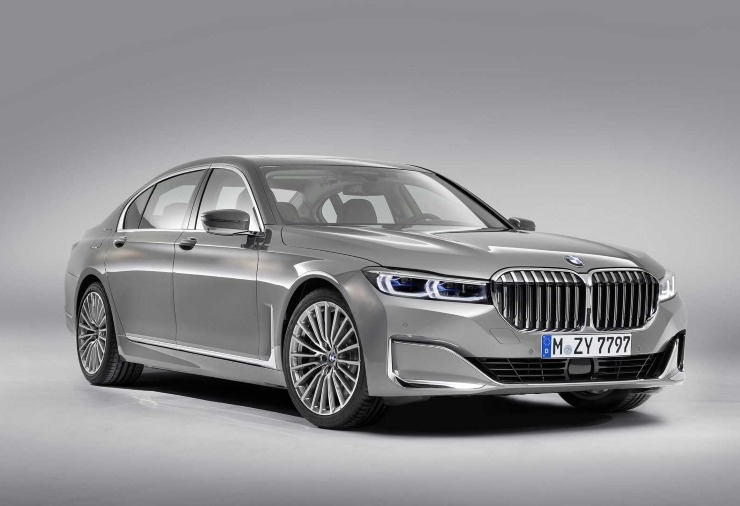 BMW 7 Series Facelift Unveiled