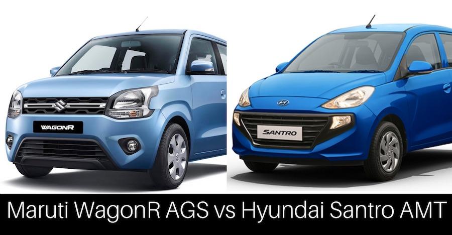 New Maruti WagonR AGS vs Hyundai Santro AMT: Which one to buy & why