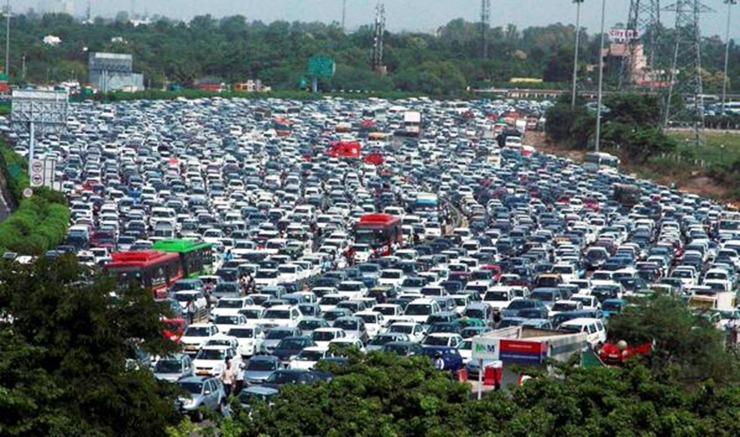 Delhi Traffic 1