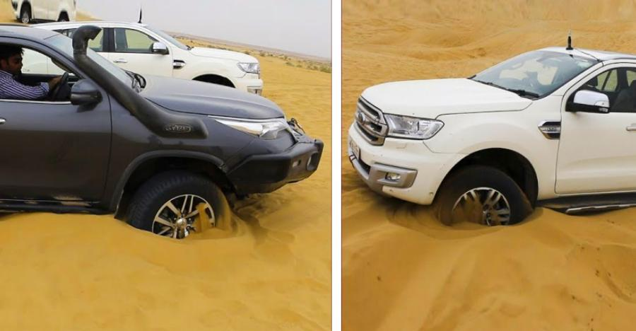 Fortuner Endeavour Sand Stuck Featured