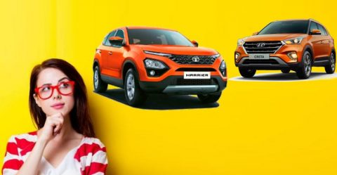 Harrier Vs Creta Featured