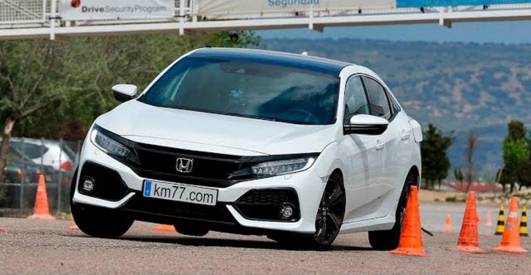 Honda Civic Moose Test Featured