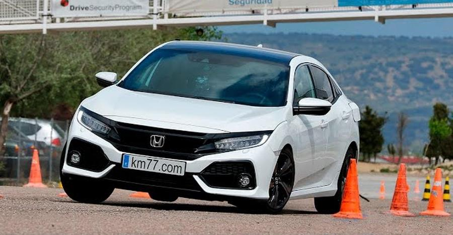 Honda Civic Moose Test Featured