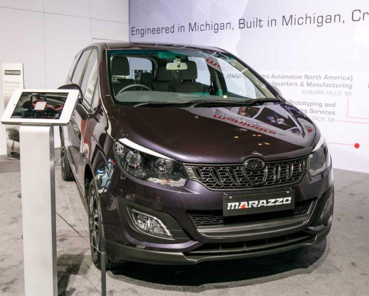 Mahindra Marazzo At The Detroit Motor Show 1