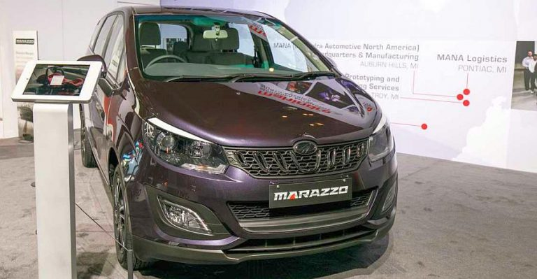 Mahindra Marazzo At The Detroit Motor Show Featured