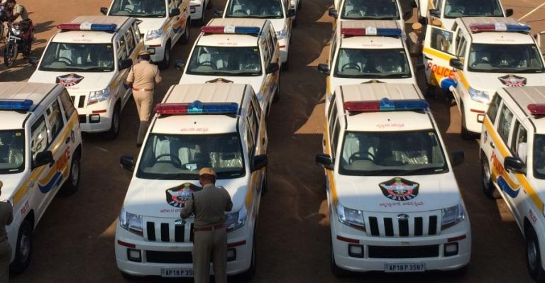 Mahindra Tuv300 Andhra Police Featured
