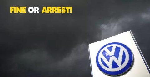 Ngt Vw Fine Arrest