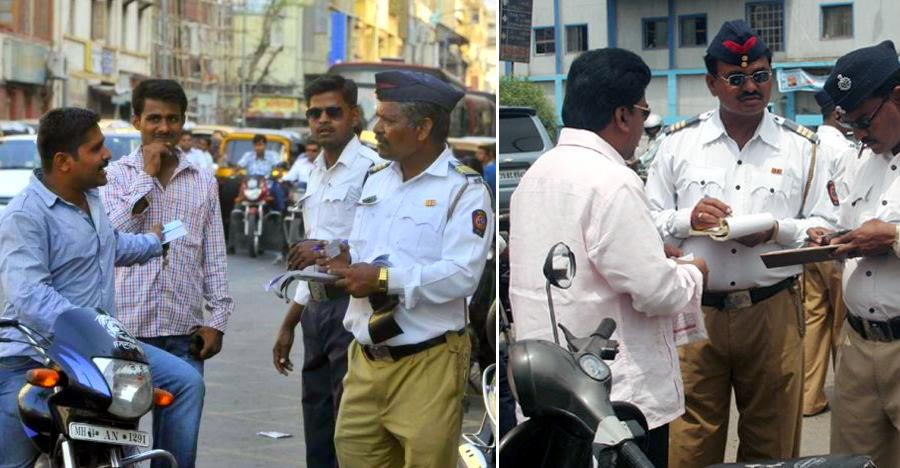 War on helmet-less riders:  9,500 bikers in Pune caught without helmets
