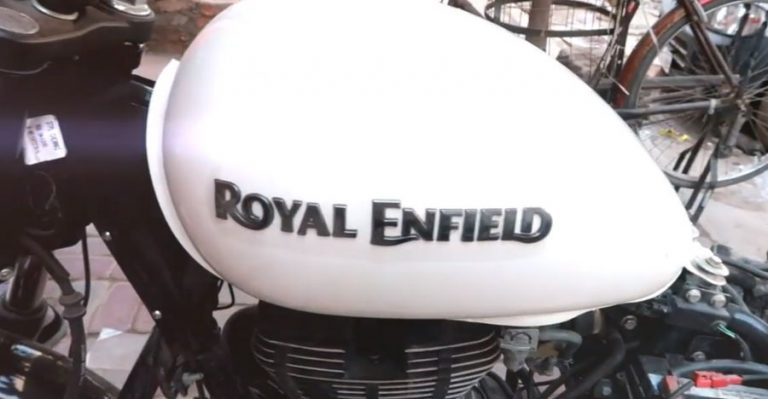 Royal Enfield Tank Featured