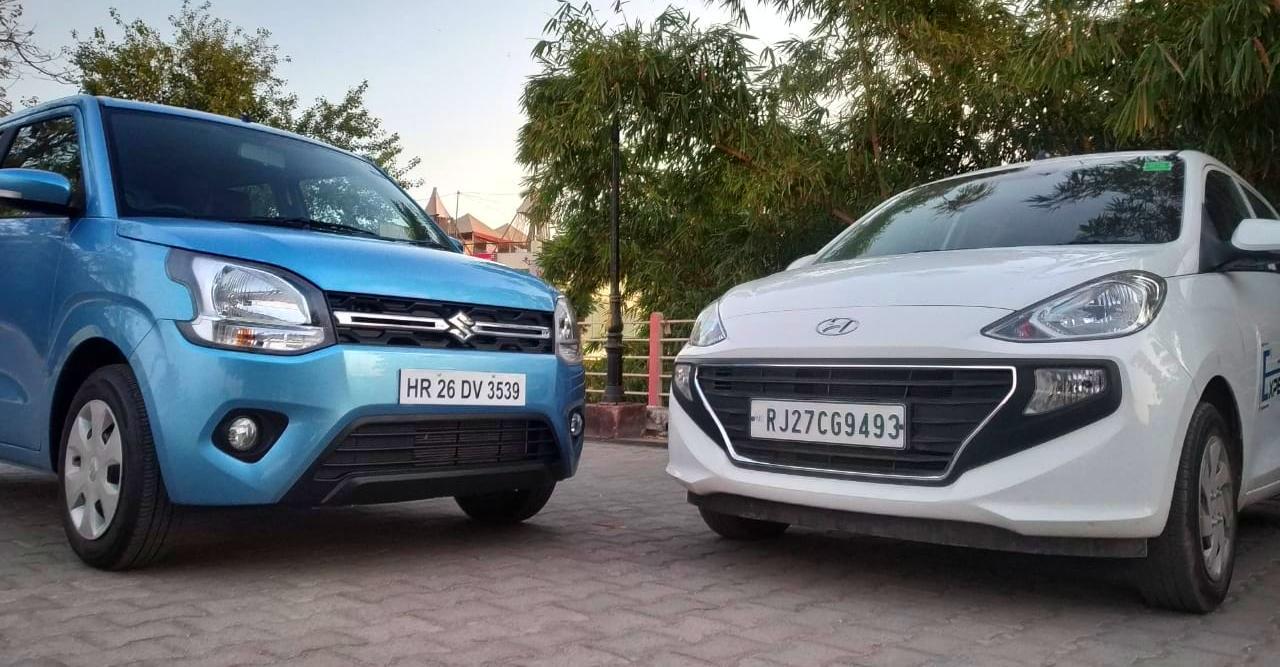 Maruti WagonR sells DOUBLE of the Hyundai Santro!