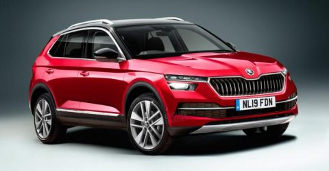 Skoda Compact Suv Render Featured