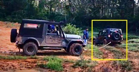 Wrangler Thar Rescue