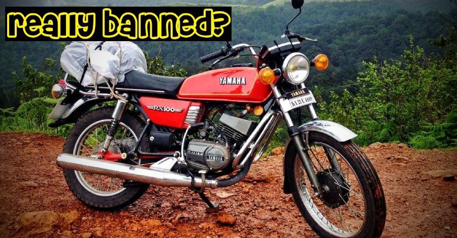2 stroke bikes like Yamaha RX100, RD350 Yezdi to be banned