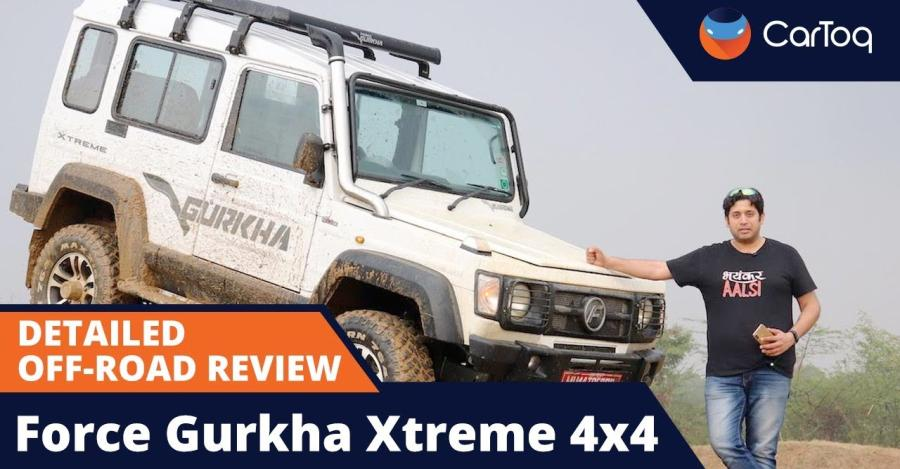Updated Force Gurkha Xtreme 4×4 Off-road Review [VIDEO]