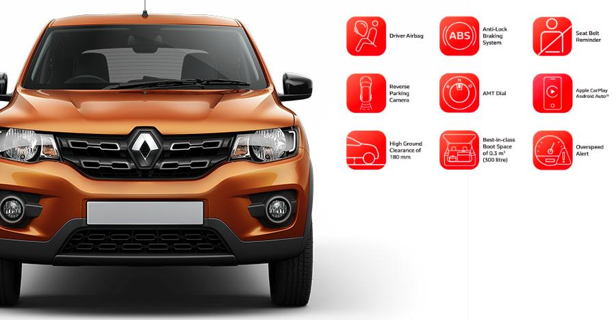 Renault Kwid with ABS, Android Auto & new features LAUNCHED