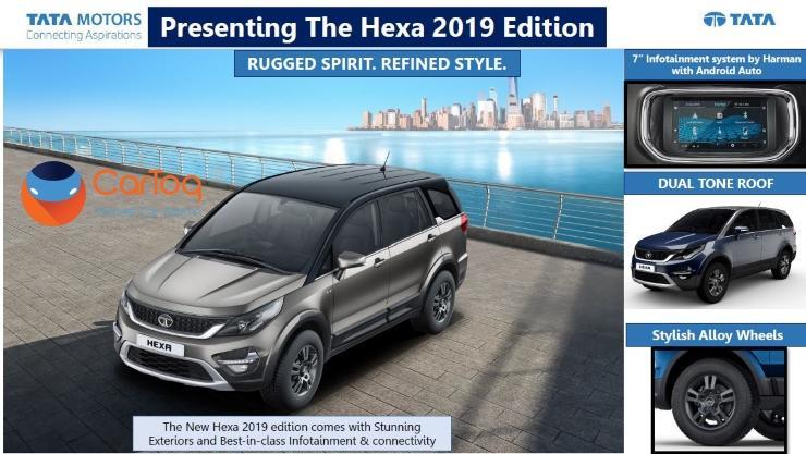 2019 Tata Hexa 1