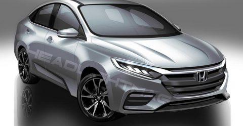 2020 Honda City Render 3 Featured
