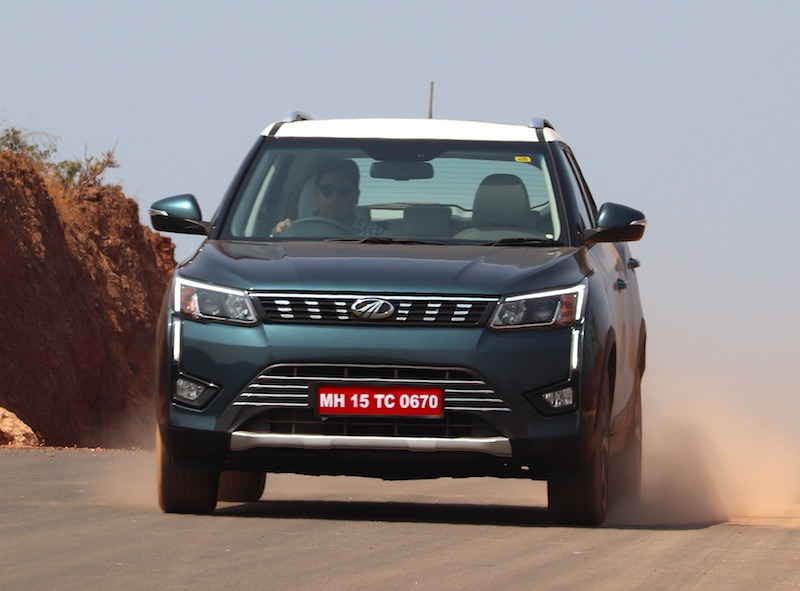 21mahindra Xuv300 Pictures