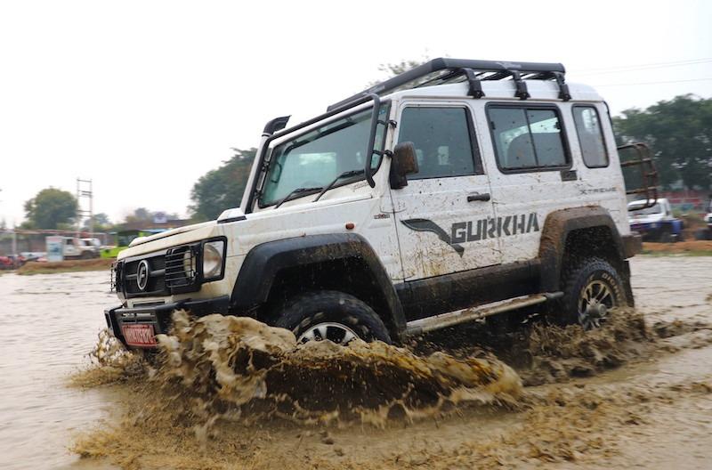 25force Gurkha Xtreme 4x4 2.2 Engine