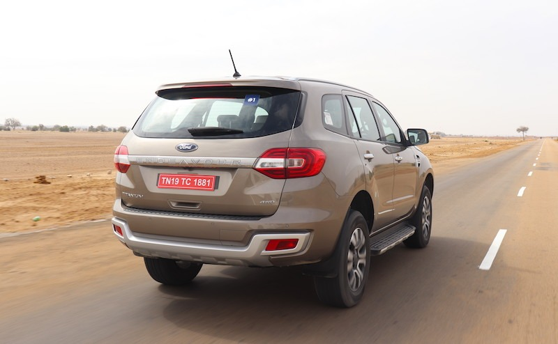 2new 2019 Ford Endeavour