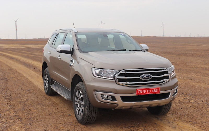 4new 2019 Ford Endeavour