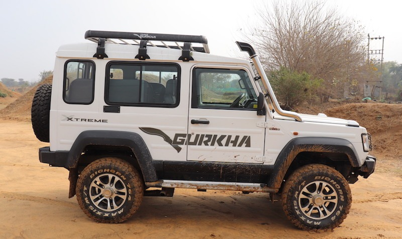 6force Gurkha Xtreme 4x4 2.2 Engine