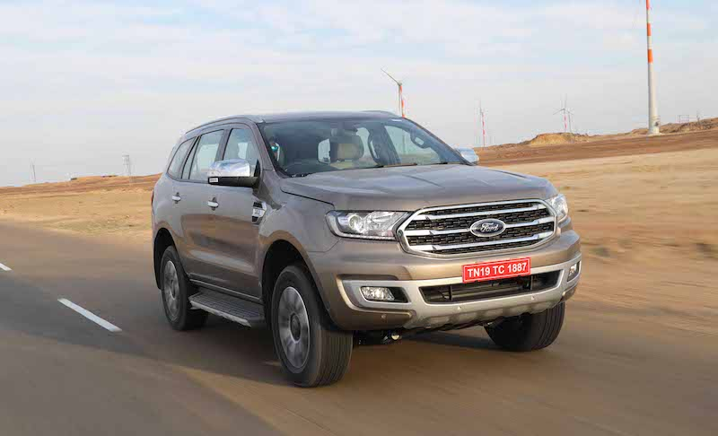 Ford Endeavour Facelift Launched In India Cheaper Than The Toyota