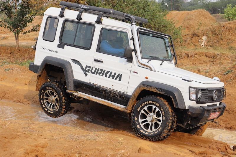 9force Gurkha Xtreme 4x4 2.2 Engine