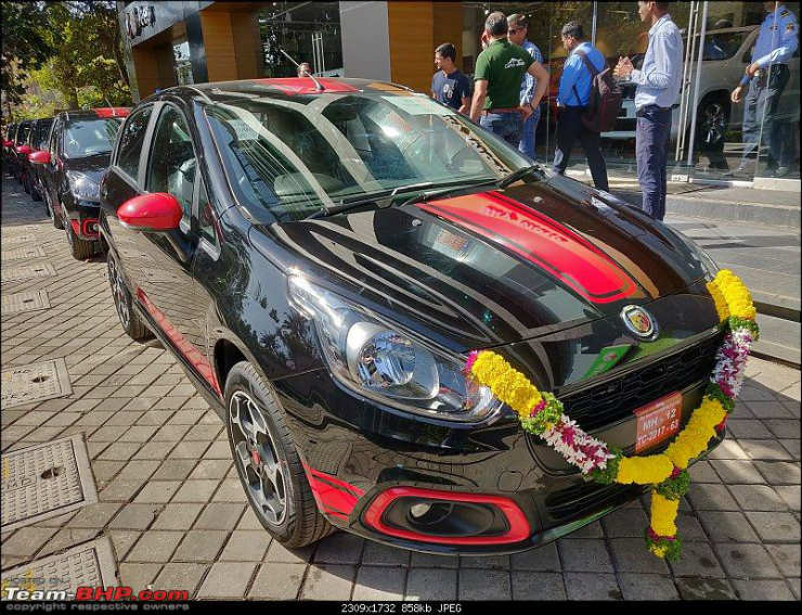 6 Friends Buy Fiat Punto Abarth At The Same Time Get Great Deal