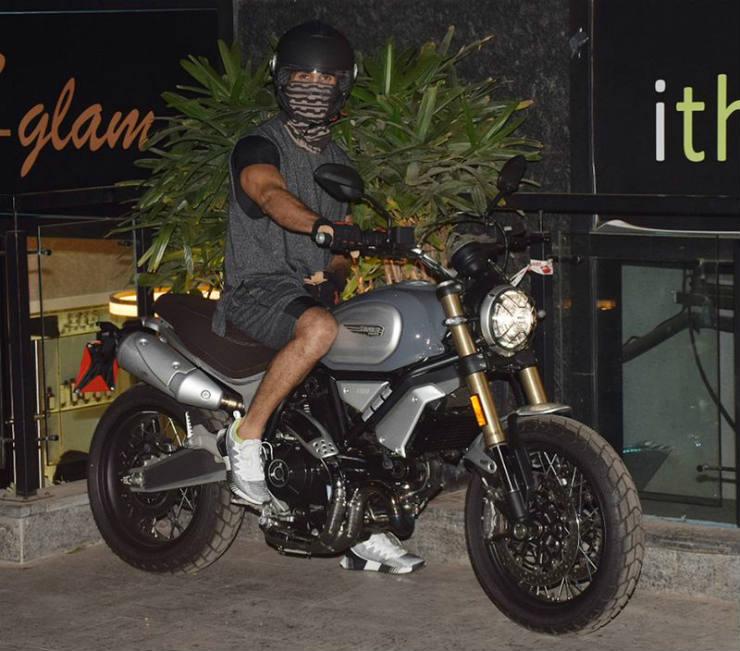Shahid Kapoor Gets A Ducati Scrambler 1100