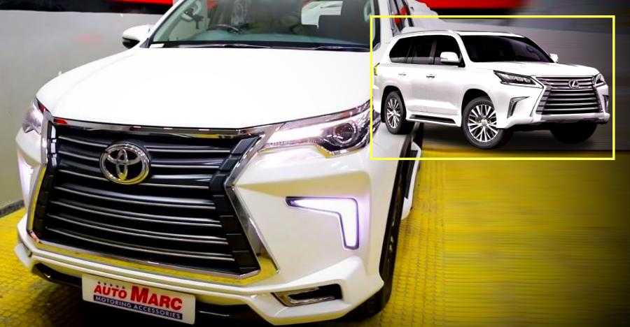 Meet the Toyota Fortuner that wants to be a Rs. 2.33 crore Lexus [Video]