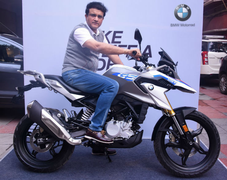 Sourav Ganguly S Latest Ride Is A Swanky New Bmw G310 Gs