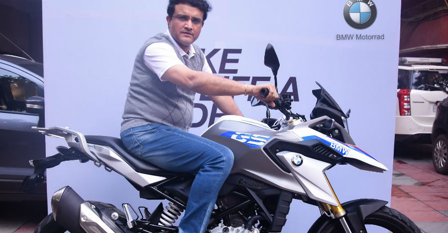 Sourav Ganguly's latest ride is a swanky new BMW G310 GS