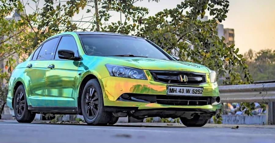 Honda Accord Wrap Feature