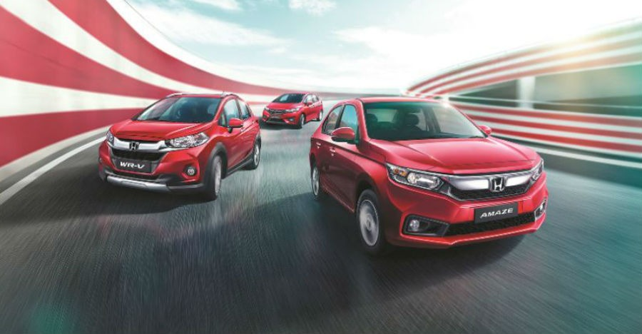Honda Amaze Jazz And Wr V Exclusive Editions Launched In India