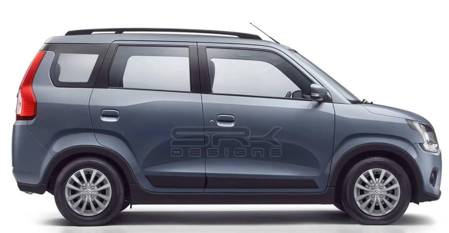 New Maruti WagonR 7 seater MPV imagined [Video]