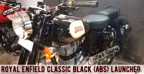 Royal Enfield Classic 500 Black Abs Featured