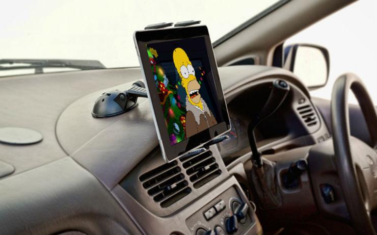 Tv In Car