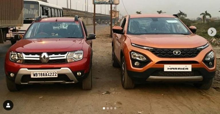 Tata Harrier Renault Duster Featured